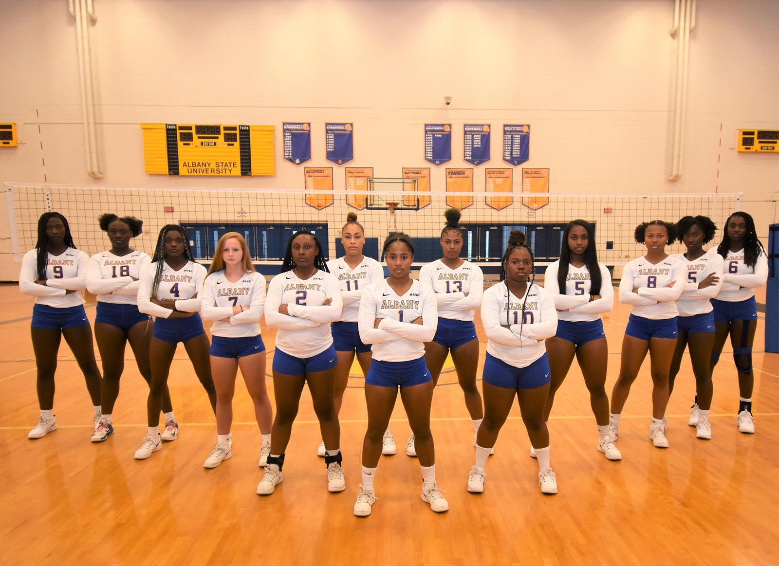 2019 Women S Volleyball Roster Albany State University Athletics