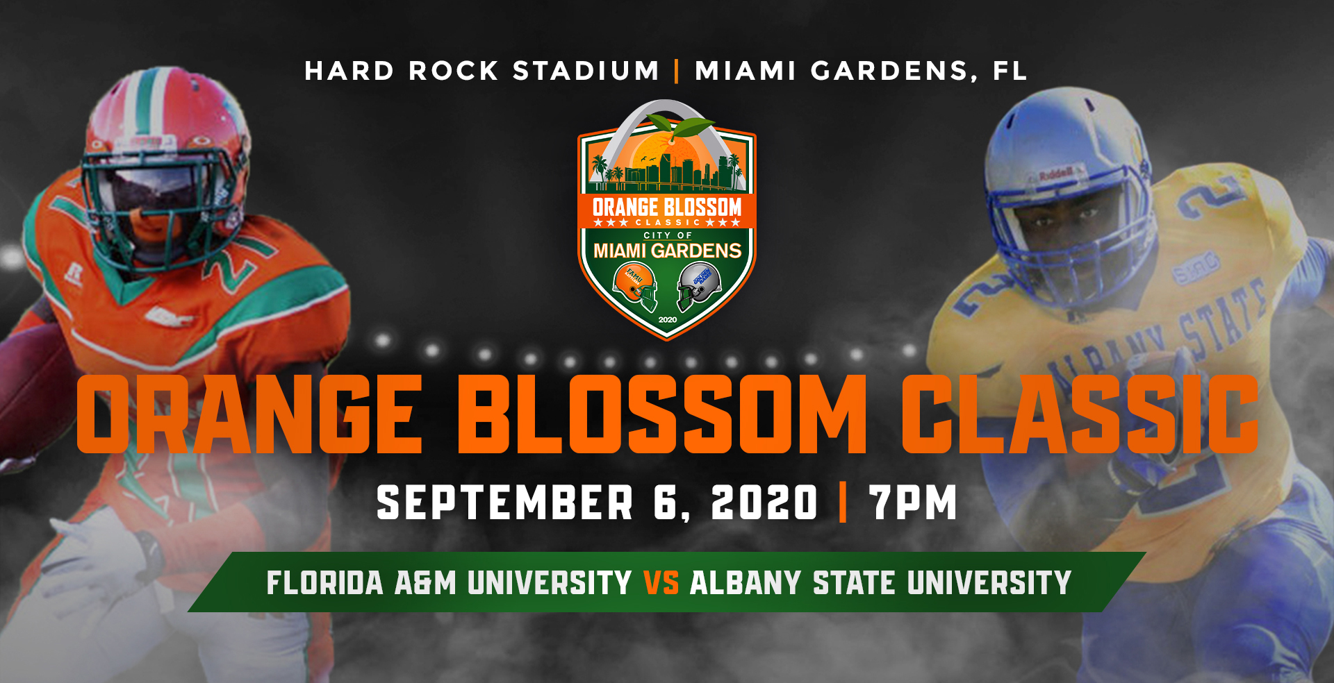 Albany State University Department Of Athletics Release 2020 Orange Blossom Classic Information Albany State University Athletics